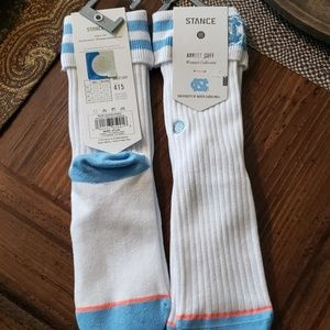 Stance UNC Chapel Hill Anklet Cuff Socks NWT